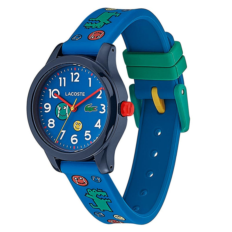 Lacoste 12.12 Blue Silicone Band Kids Watch - 2030030