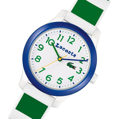 Lacoste 12.12 Kids White Silicone Kids Watch - 2030033