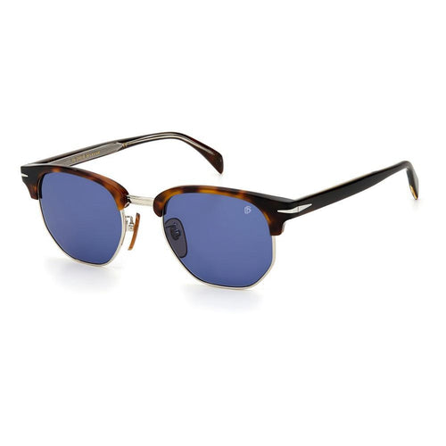 David Beckham DB 1002/S - Brown Havana - Blue Avio