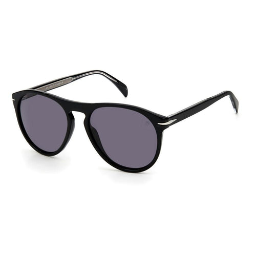 David Beckham DB 1008/S - Black - Grey Polarized