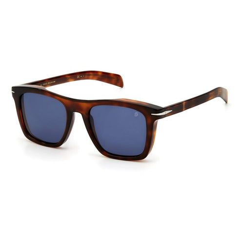 David Beckham DB 7000/S - Brown Havana - Blue Avio
