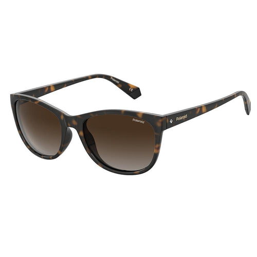 Polaroid Women's Sunglasses Square Frame Brown Shaded Polarized Lens - Pld 4099/S