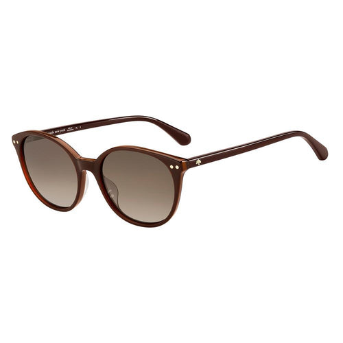 Kate Spade Women's Sunglasses Panthos Frame Brown Shaded Lens - Jenson/S