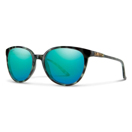 Smith Cheetah - Havana Green - Blue Mirror Multilayer