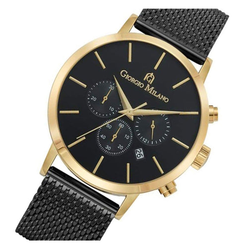 Giorgio Milano 216 Black Mesh Men's Watch - 216SGBK3