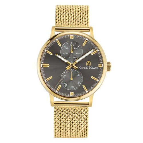 Giorgio Milano 222 Gold Mesh Men's Watch - 222SG10