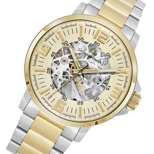 Giorgio Milano Two-Tone Steel Automatic Men's Watch - 228STG5