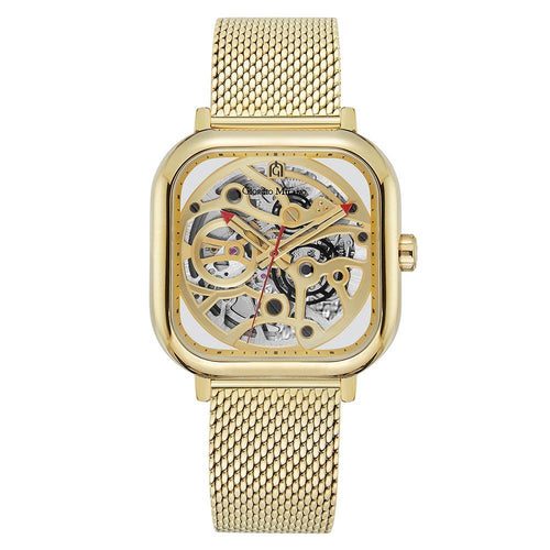 Giorgio Milano Gold Meshl Automatic Men's Watch - 229SG5