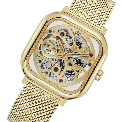 Giorgio Milano Gold Mesh Automatic Men's Watch - 229SG5