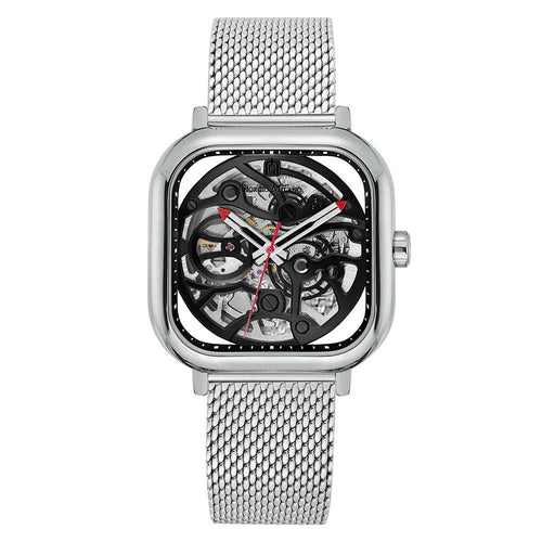 Giorgio Milano Silver Mesh Automatic Men's Watch - 229ST3