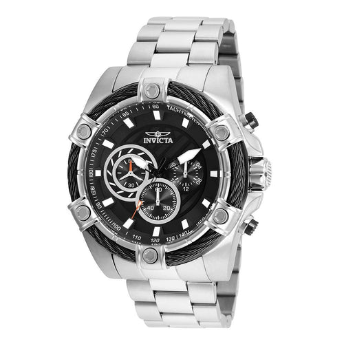 Invicta Bolt 52 mm Stainless Steel Men's Watch
