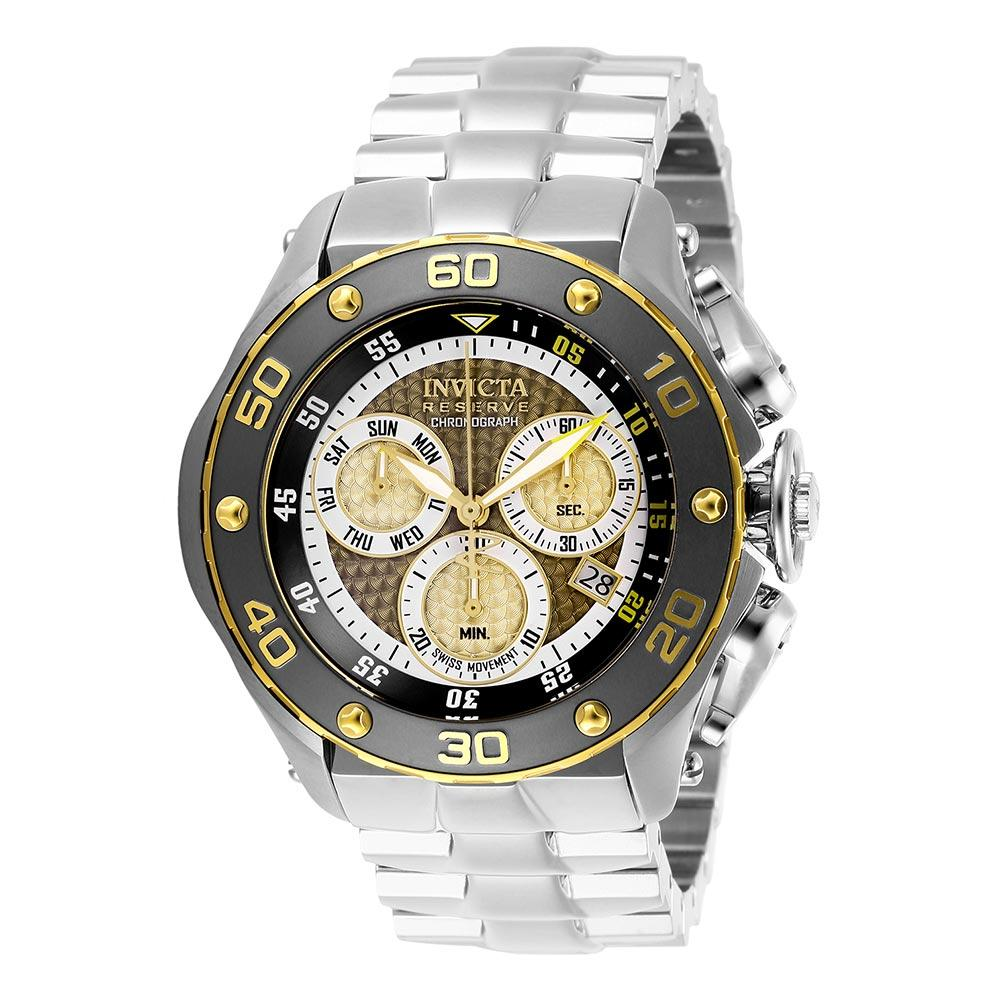 Invicta Reserve 51.5 mm Stainless Steel Men's Watch