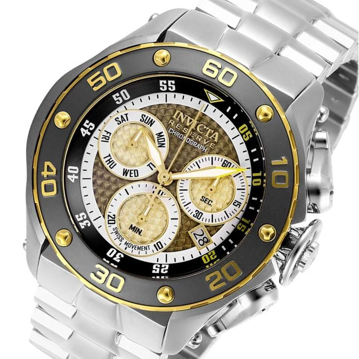 Invicta Reserve 51.5 mm Stainless Steel Men's Watch - 26570