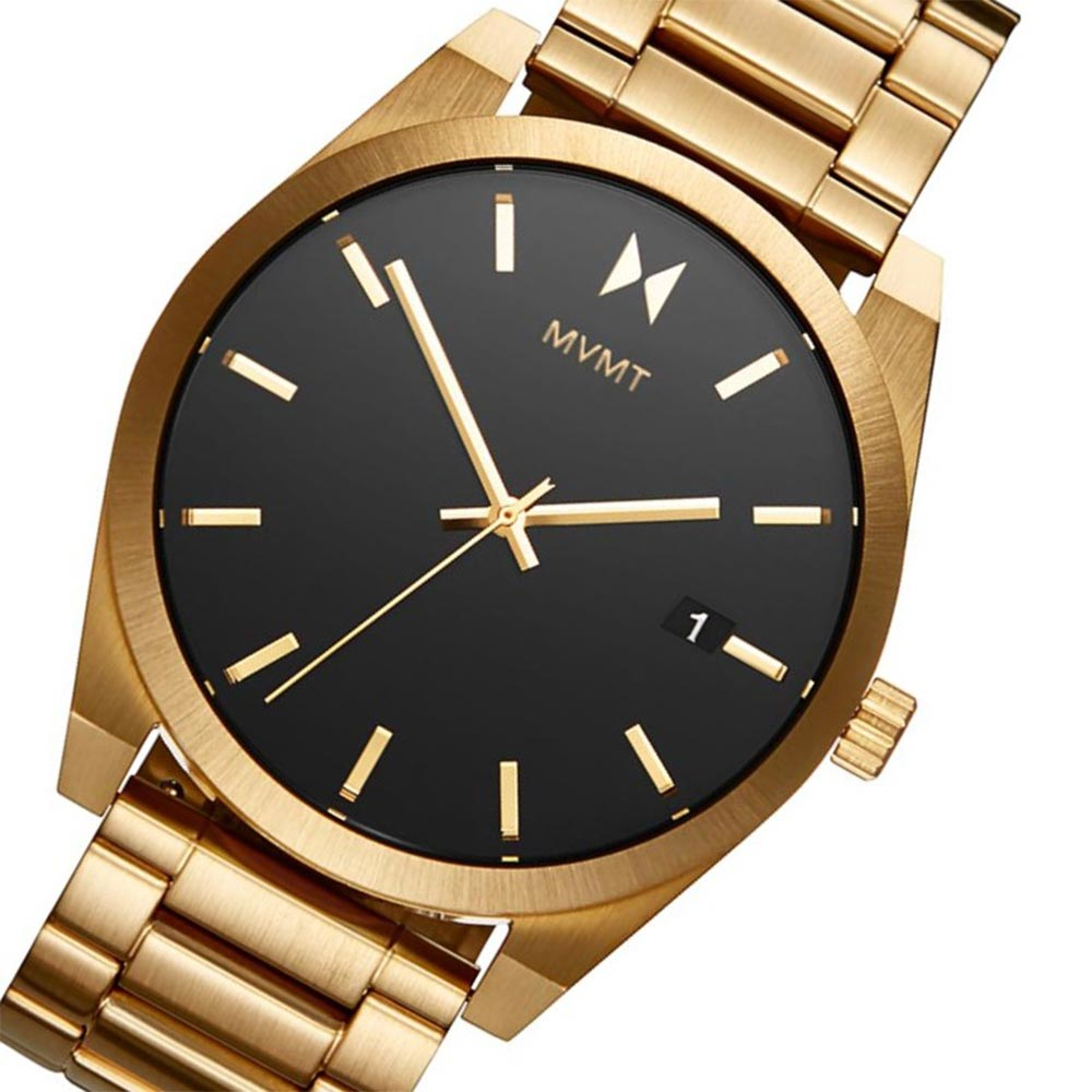 MVMT Element Gold Steel Men's Watch - 28000037D