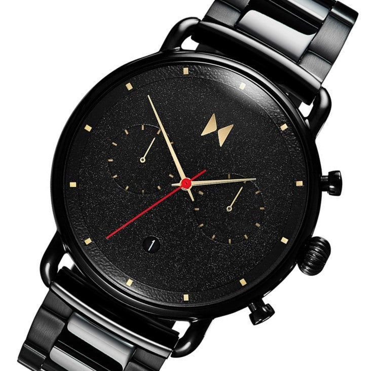 MVMT Caviar Black Steel Men's Watch - 28000051D