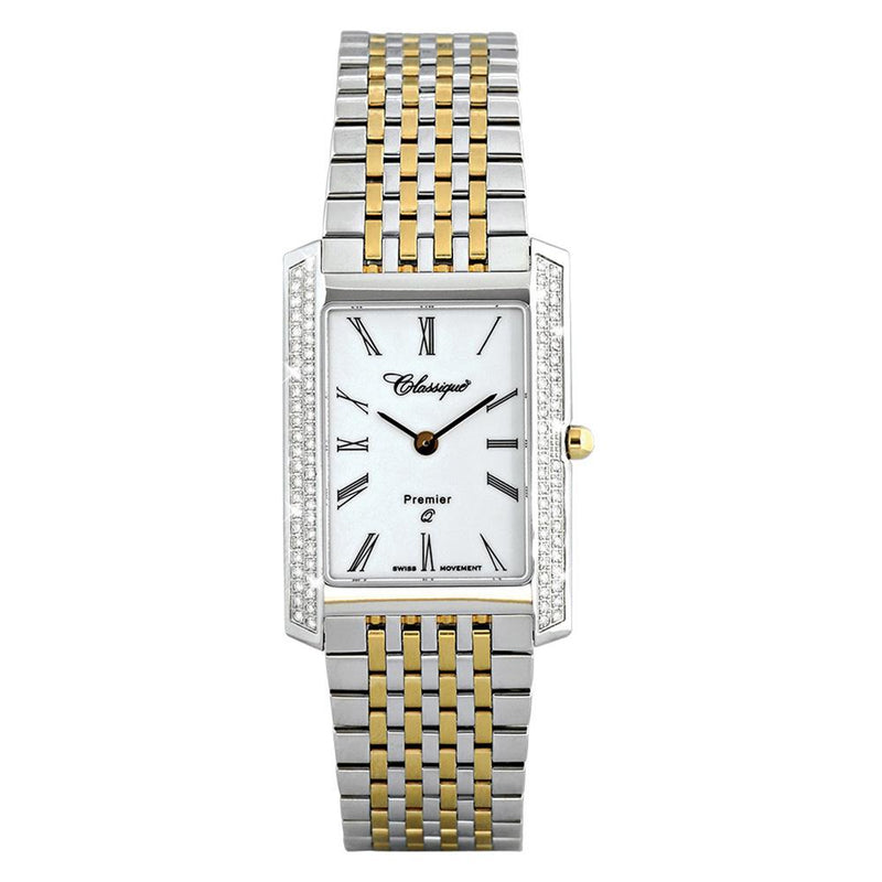 Classique Diamonds Premier Two-Tone Steel Ladies Swiss Watch - 28126BD