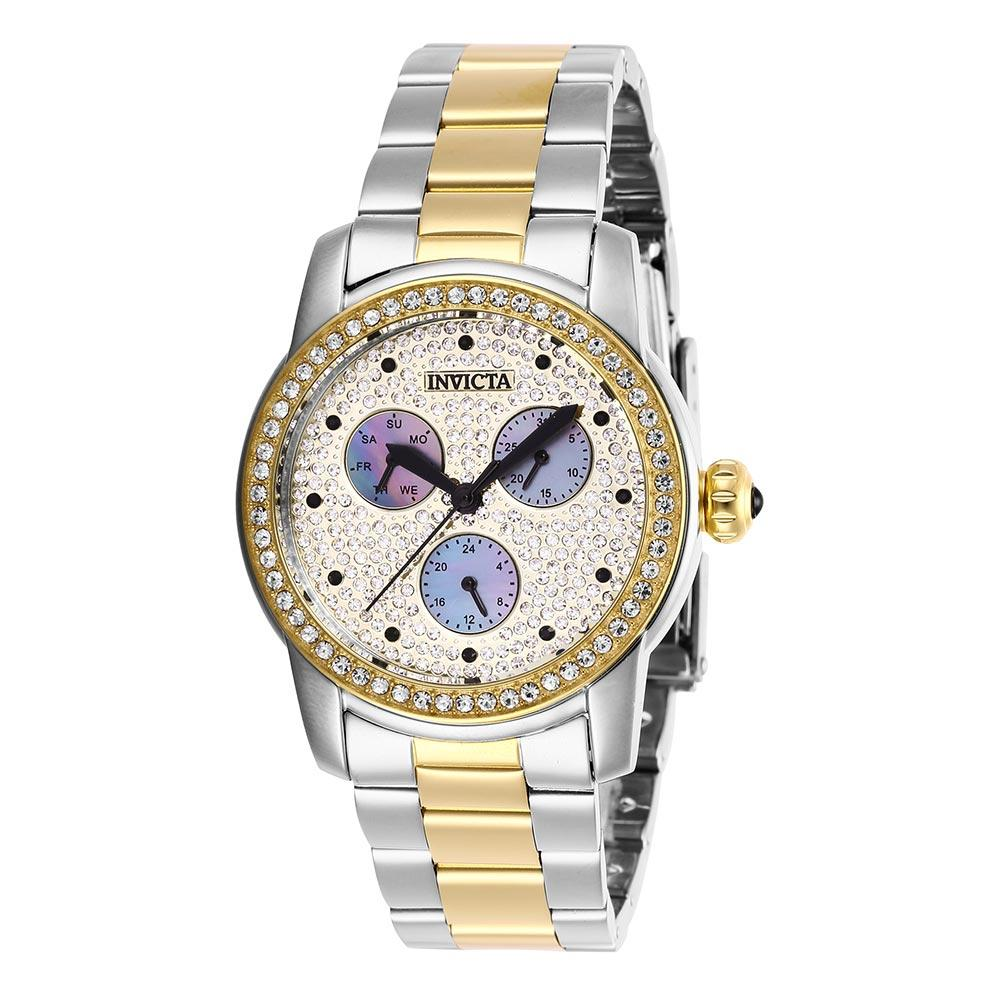 Invicta Angel 38 mm Two-Tone Steel Women's Watch