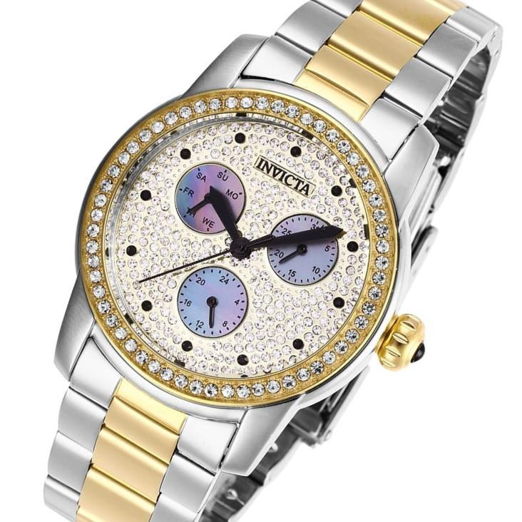 Invicta Angel 38 mm Two-Tone Steel Women's Watch - 28468