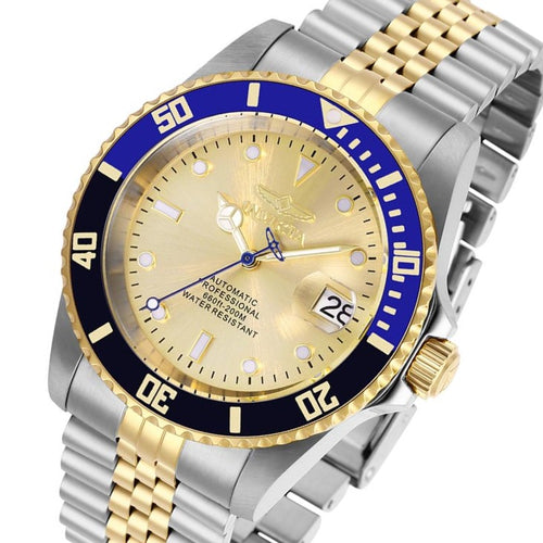Invicta Pro Diver 42 mm Two-Tone Steel  Automatic  Men's Watch - 29181