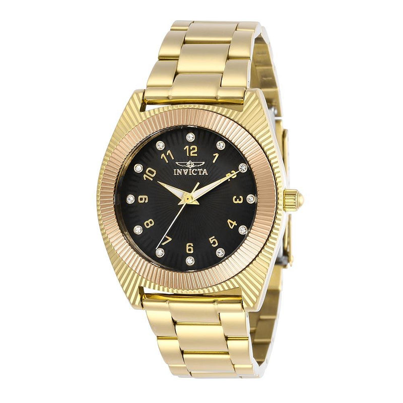 Invicta Angel 38.5 mm Gold Steel Women's Watch