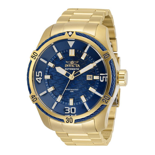 Invicta Bolt Automatic 45 mm Gold Steel Men's Watch