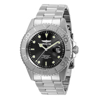 Invicta Pro Diver 37.5 mm Silver Steel Men's Watch