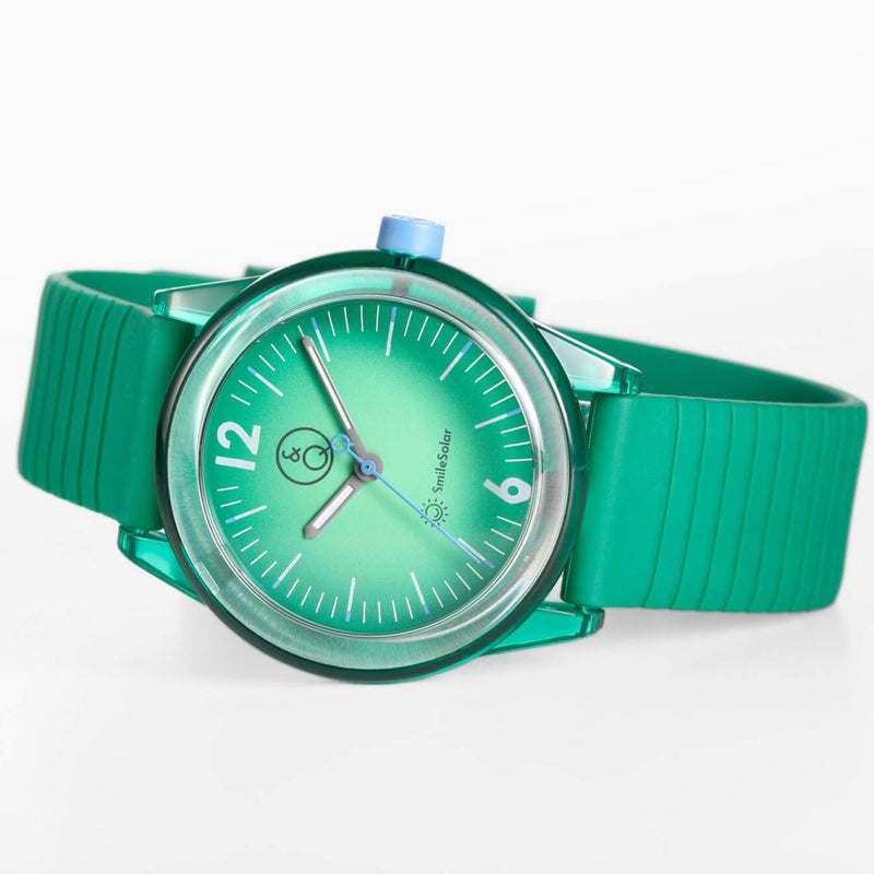 Q&Q SmileSolar Green Solar Unisex Watch - RP18J012Y