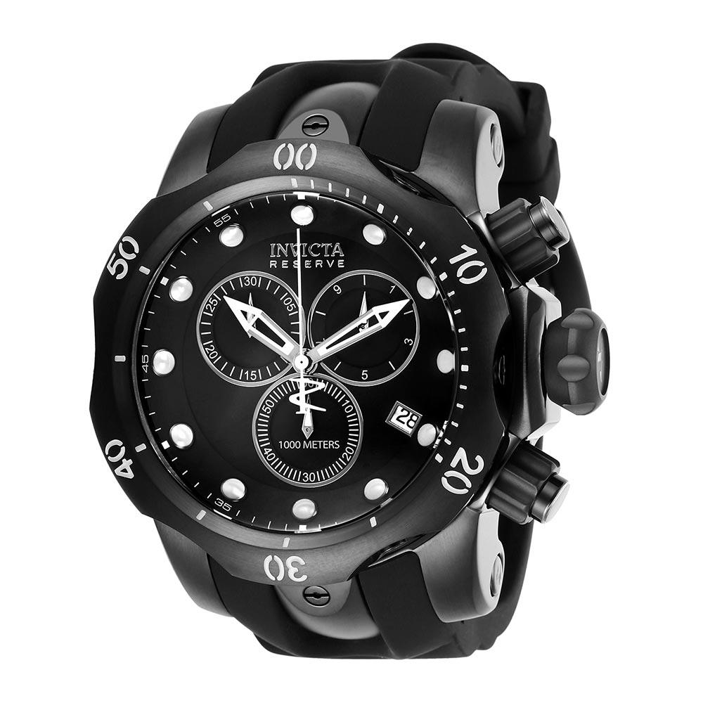Invicta Venom Reserve Black Chrono Men's Watch