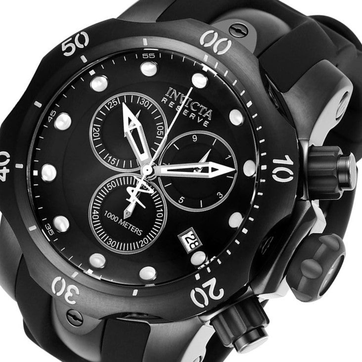 Invicta Venom Reserve Black Chrono Men's Watch - 6051