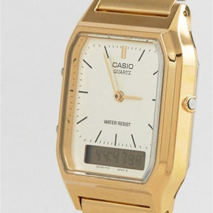 Casio Classic Gold Analogue & Digital Ladies Watch - AQ230GA-9DS