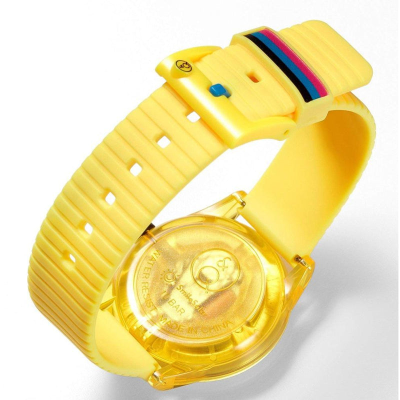 Q&Q SmileSolar Yellow Solar Unisex Watch - RP18J009Y