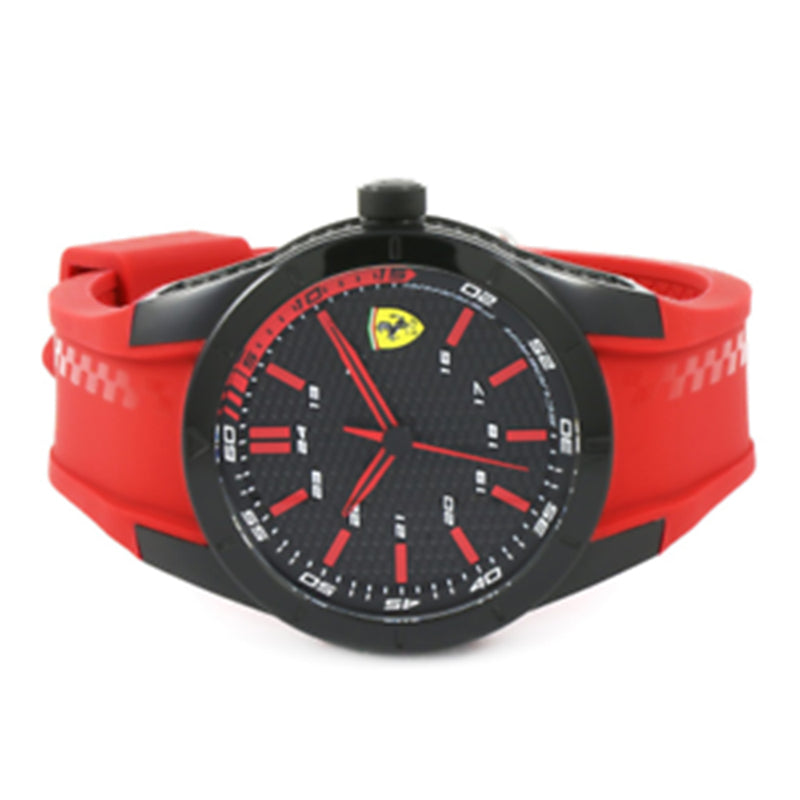 Scuderia Ferrari Men's REDREV Red Silicone Watch - 830299