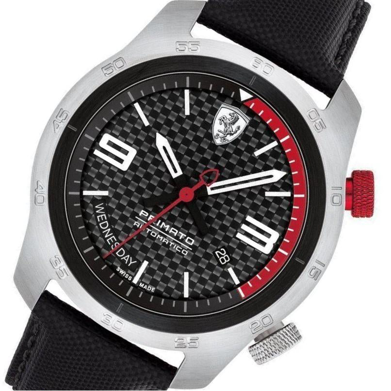 Scuderia Ferrari Primato Swiss Automatic Limited Edition Men's Watch - 830440