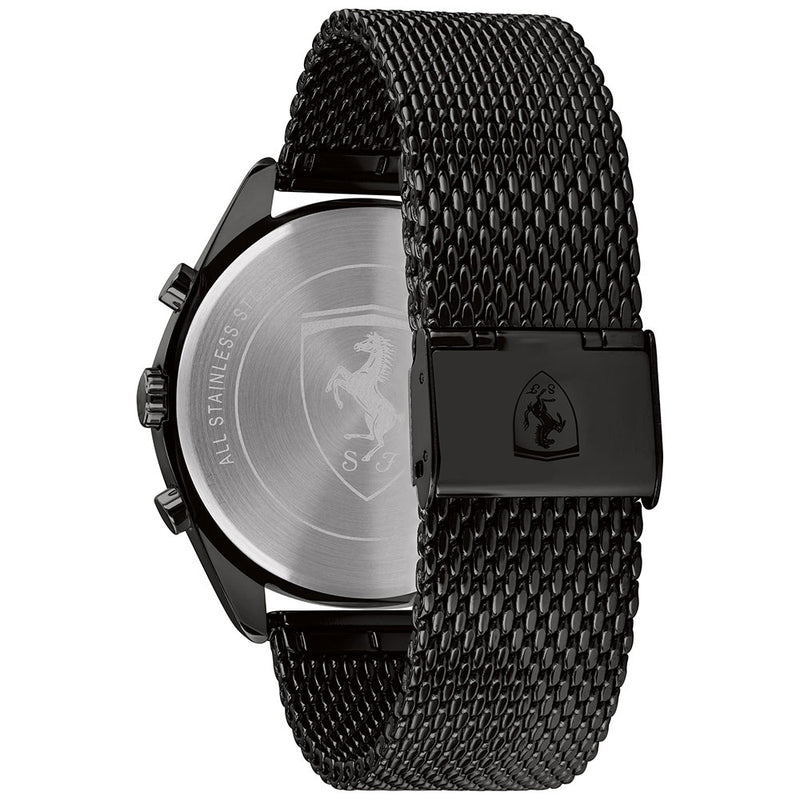 Ferrari Abetone Black Mesh Men's Watch - 830573