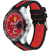 Ferrari Redrev T Black & Red Silicone Men's Watch - 830588