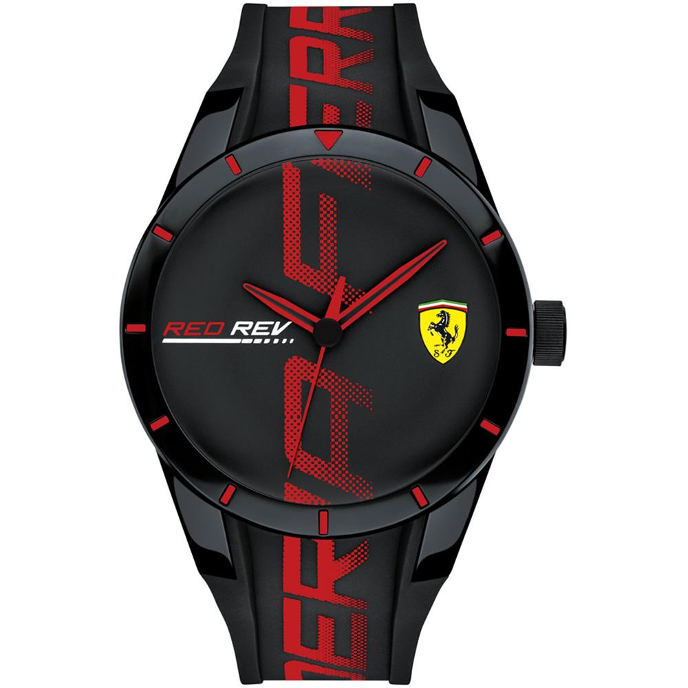 Ferrari Redrev Men's Black Sports Watch - 830614