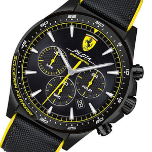 Ferrari Pilota  Men's Chronograph Sports Watch - 830622