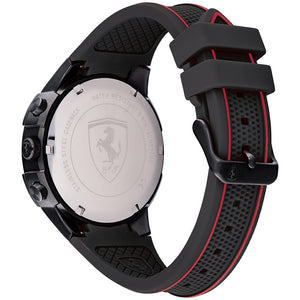 Ferrari Apex Black Silicone Men's Multi-function Watch - 830634