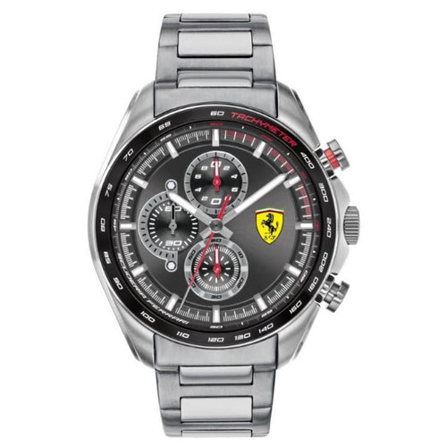 Ferrari Speedracer Steel Men's Chrono Watch - 830652