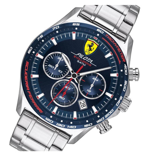 Scuderia Ferrari Pilota Evo Stainless Steel Chrono Men's Watch - 830749