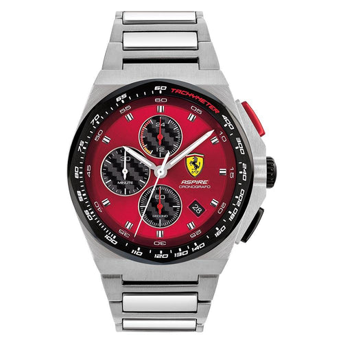 Scuderia Ferrari Aspire Stainless Steel Men's Chrono Watch - 830790