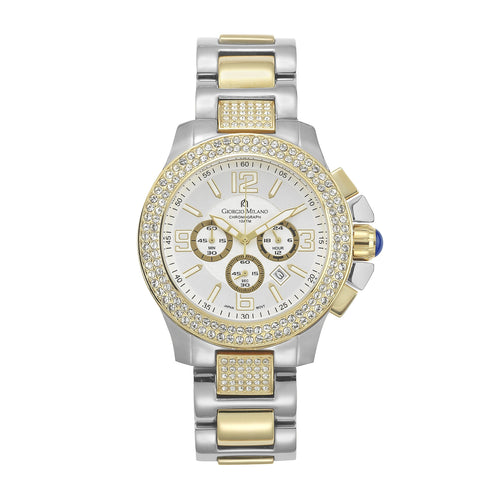 Giorgio Milano Gold Steel Men's Chrono Watch - 839STG02