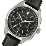 Bulova The Lunar Pilot Special Edition Leather Gents Watch Set - 96B251