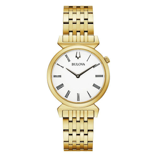 Bulova Classic Gold Steel Ladies Watch - 97L161