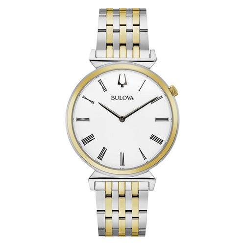 Bulova Classic Two-Tone Steel Men's - 98A233