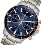 Bulova Marine Star Gents Multi Function Dual-Tone Steel Men's Watch - 98B301
