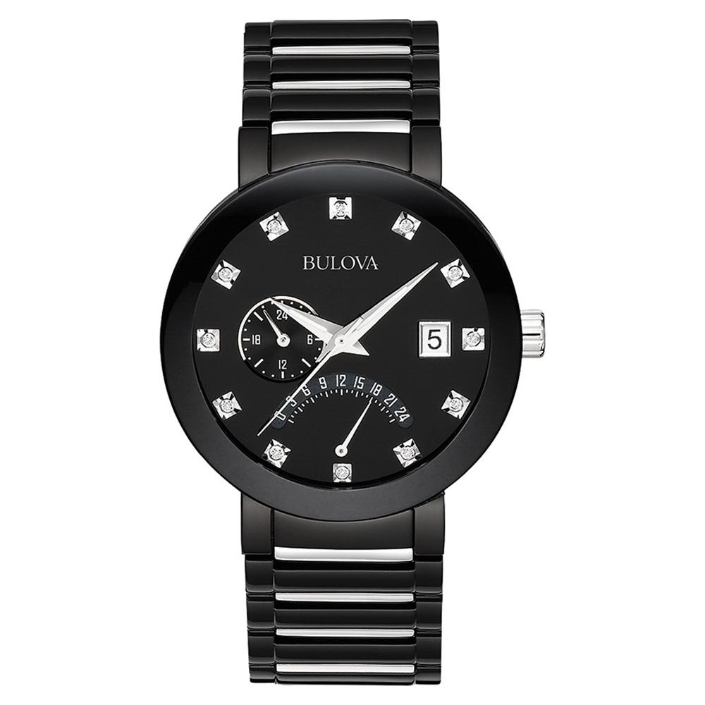 Bulova Gents Modern Multi Funciton Luxe Diamond Watch - 98D109