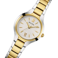 Bulova Ladies Sutton Slim Dual Tone Watch - 98L217