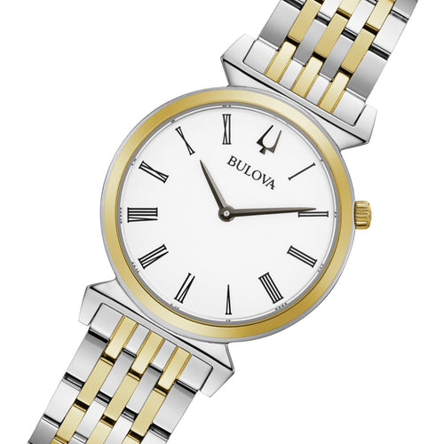 Bulova Classic Two-Tone Steel Ladies Watch - 98L264