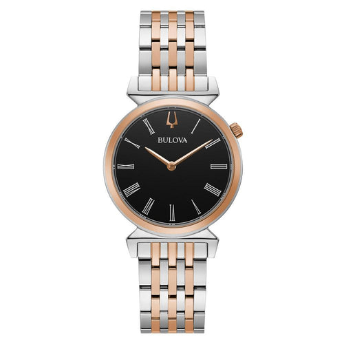 Bulova Classic Two-Tone Steel Ladies Watch - 98L265